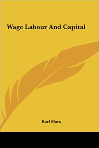 Karl Marx - Wage Labour and Capital Audiobook Free Online