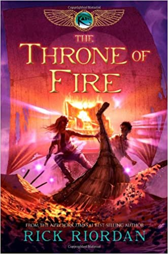 Kane Chronicles - The Throne of Fire Audiobook Free Online